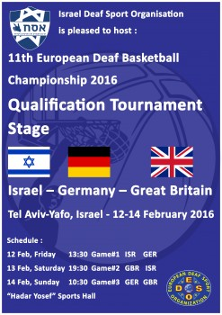 2016 EC Basketball - Poster - Qualification Group B new