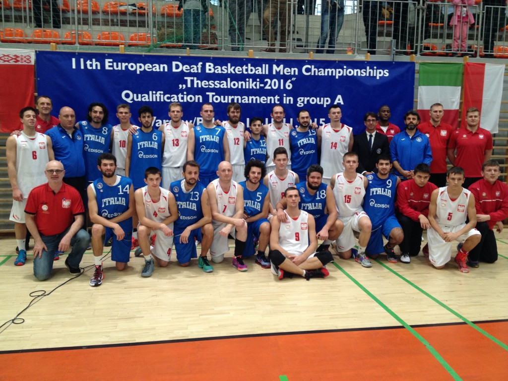 Basketball Group A - Italy and Poland
