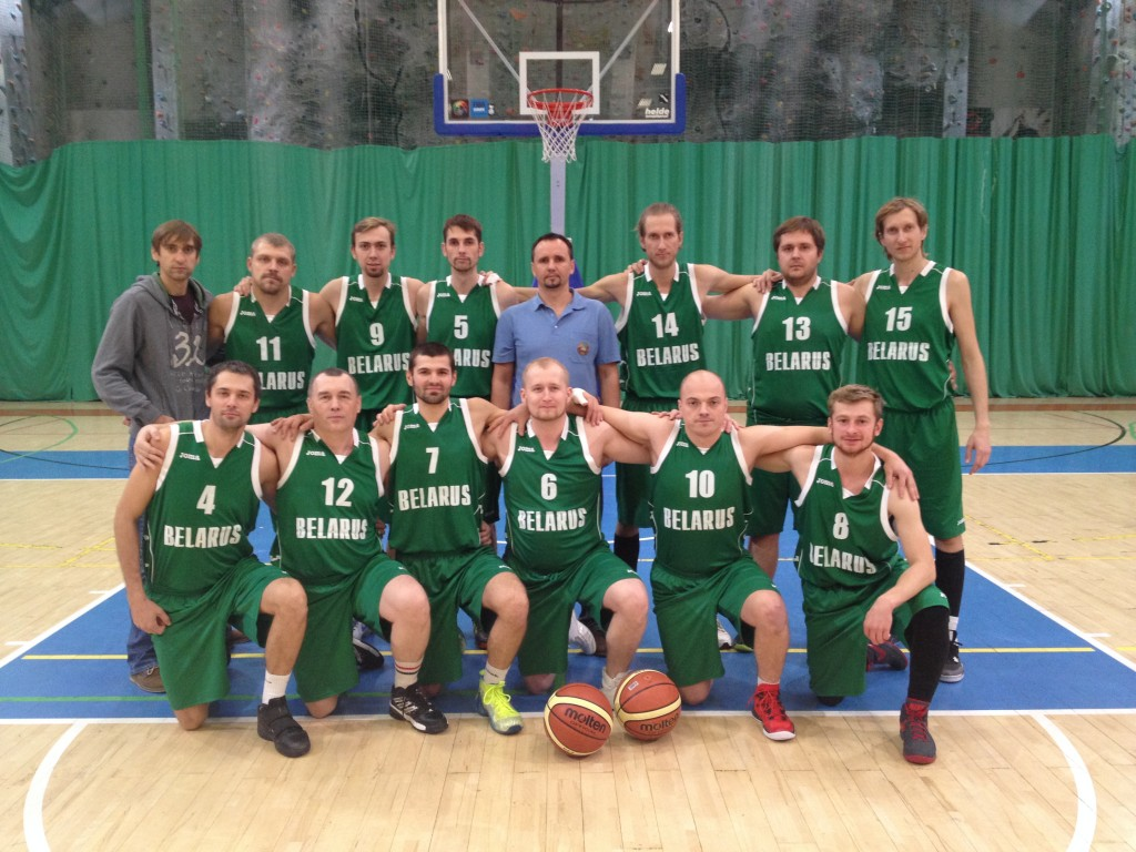 Belarus team photo Basketball