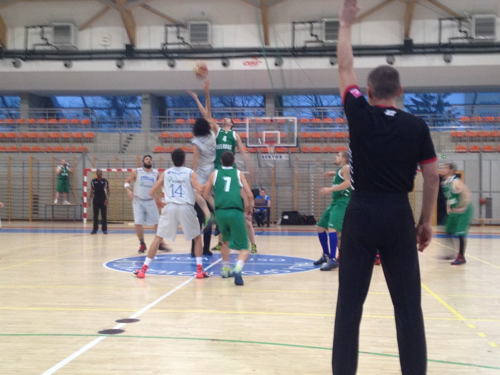 Basketball Group A - Italy vs. Belarus