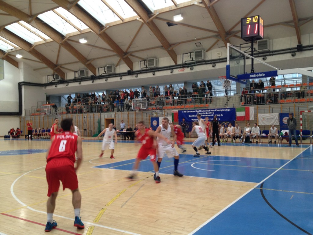 Basketball Group A - Poland vs. Belarus