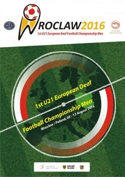 1st U21 EC Football Wroclaw, Poland Poster