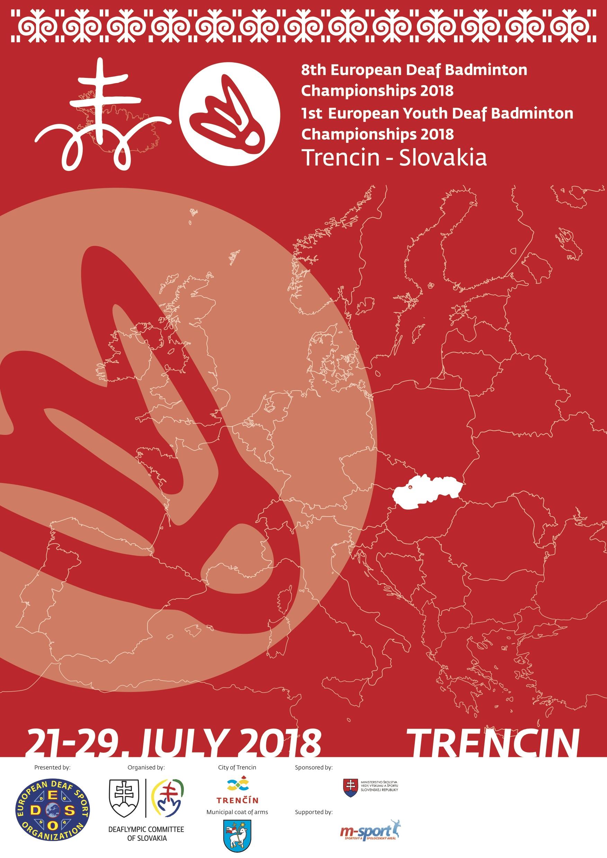 european deaf sports organisation 1st european youth badminton championships