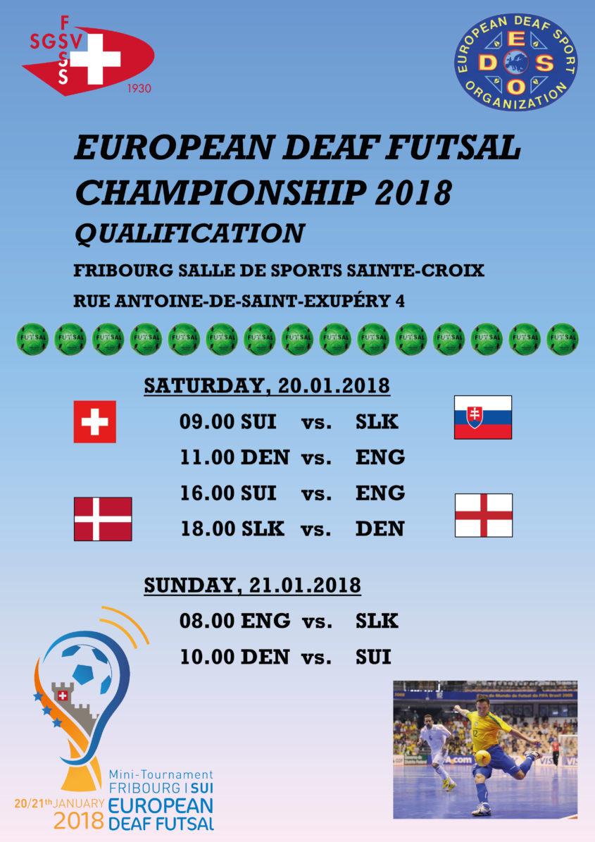 European Deaf Sports Organisation  cea6713d93d88