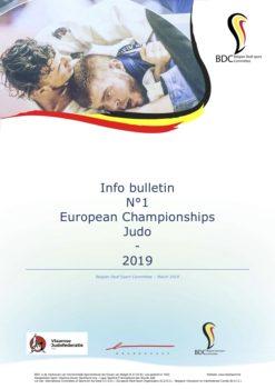 2nd EC Judo 10 – 14 October 2019 in Brasschaat 9fe728afd0e88