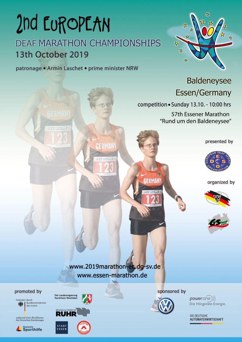 unverwechselbares Design zuverlässige Leistung zuverlässigste European Deaf Sports Organisation | 2nd EC Marathon 13 Oct ...